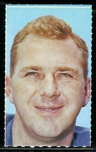 Jimmy Orr 1969 Glendale Stamps football card