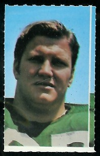 Pete Lammons 1969 Glendale Stamps football card