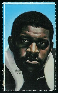 Gene Upshaw 1969 Glendale Stamps football card