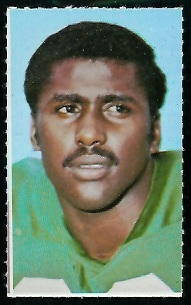 Al Nelson 1969 Glendale Stamps football card