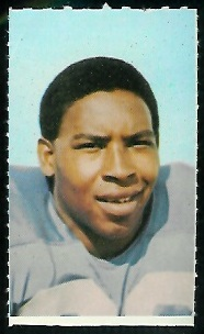 Kenny Graham 1969 Glendale Stamps football card