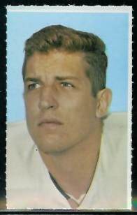 George Andrie 1969 Glendale Stamps football card