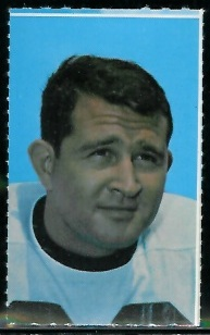 Mike Clark 1969 Glendale Stamps football card