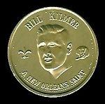 1969 Saints Doubloons Bill Kilmer