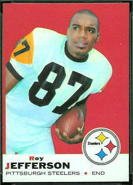 Roy Jefferson 1969 Topps football card