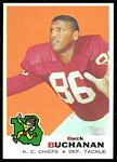 Buck Buchanan 1969 Topps football card