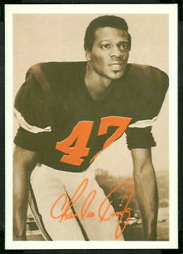 Charlie King 1969 Tresler Comet Bengals football card
