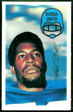 Bubba Smith 1970 Kelloggs football card
