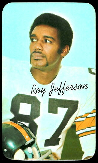 Roy Jefferson 1970 Topps Super football card