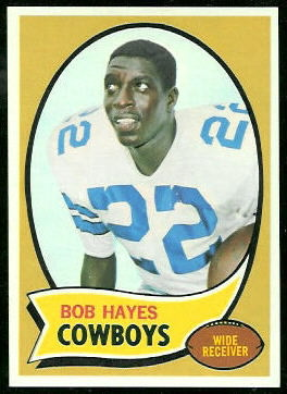 Bob Hayes 1970 Topps football card