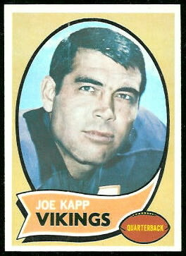 Joe Kapp 1970 Topps football card
