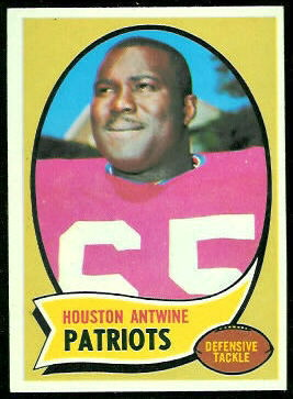 Houston Antwine 1970 Topps football card