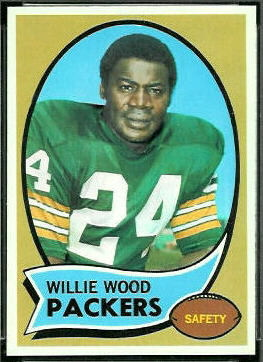 Willie Wood 1970 Topps football card