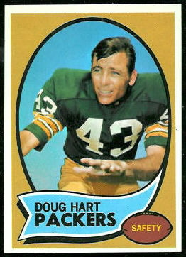 Doug Hart 1970 Topps football card
