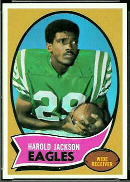 Harold Jackson 1970 Topps football card