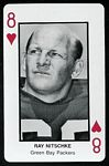 Ray Nitschke 1970s Littelfuse Playing Card