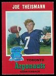 1971 O-Pee-Chee CFL Joe Theismann