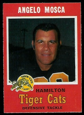 Angelo Mosca 1971 O-Pee-Chee CFL football card