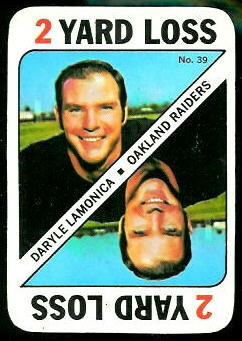 Daryle Lamonica 1971 Topps Game football card