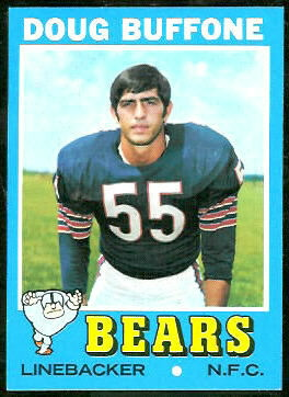 Doug Buffone 1971 Topps football card