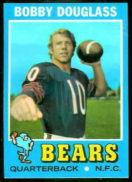 Bobby Douglass 1971 Topps football card