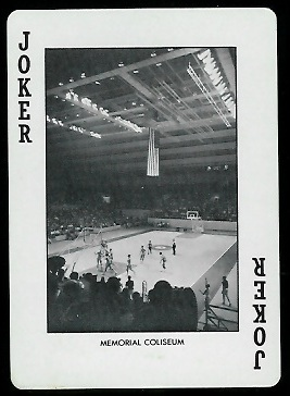 Memorial Coliseum 1972 Alabama Playing Cards football card