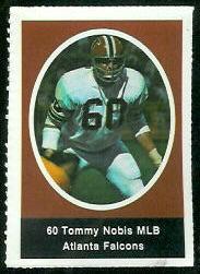 1972 Sunoco Stamp of Tommy Nobis