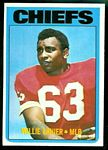 Willie Lanier 1972 Topps football card
