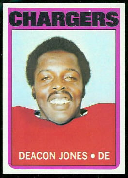 Deacon Jones 1972 Topps football card