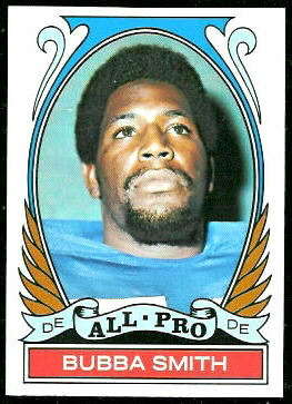 Bubba Smith All-Pro 1972 Topps football card