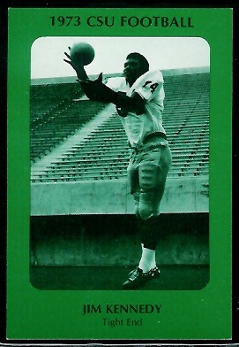 Jimmie Kennedy 1973 Colorado State football card