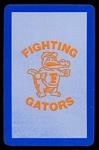 1973 Florida football playing card back