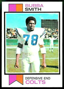 Bubba Smith 1973 Topps football card