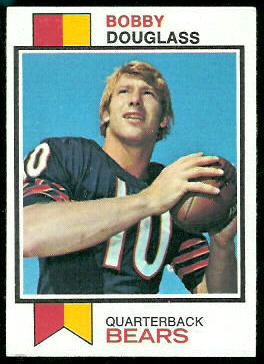 Bobby Douglass 1973 Topps football card