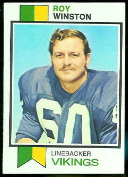 Roy Winston 1973 Topps football card