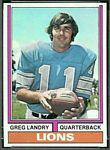 1974 Topps Greg Landry