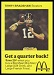 1975 McDonalds Quarterbacks Terry Bradshaw