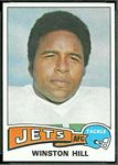 Winston Hill 1975 Topps football card