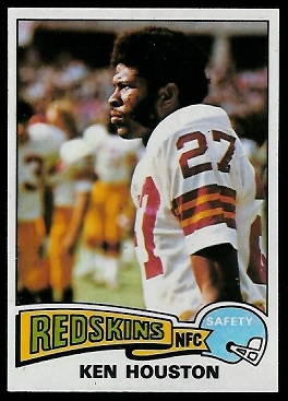 Ken Houston 1975 Topps football card