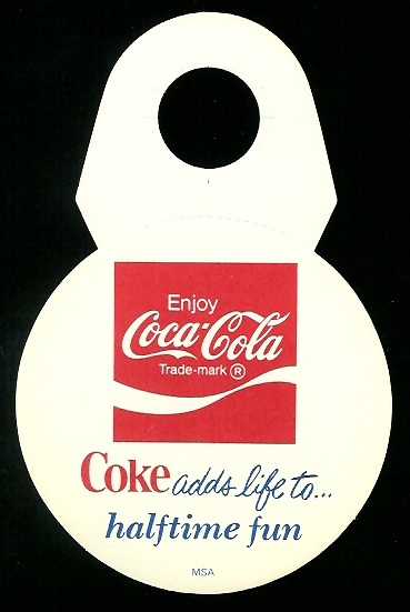 Back of 1976 Coke Bears Disc