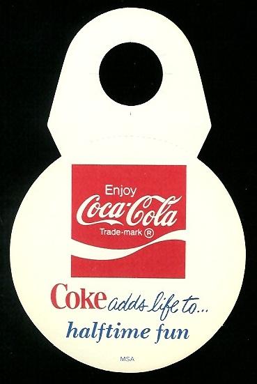 Back of 1976 Coke Bears Disc