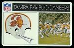 1976 Popsicle Tampa Bay Buccaneers