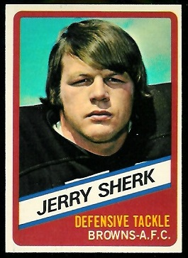 Jerry Sherk 1976 Wonder Bread football card