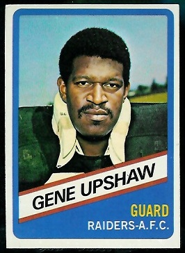 Gene Upshaw 1976 Wonder Bread football card