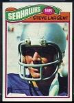 1977 Topps Steve Largent