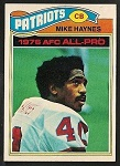 Mike Haynes 1977 Topps football card