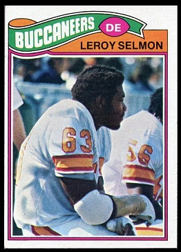 1977 Topps Lee Roy Selmon rookie football card