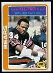 Walter Payton 1978 Topps football card
