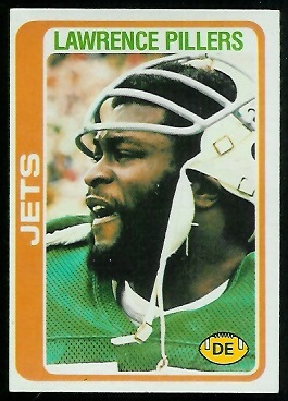 Lawrence Pillers 1978 Topps football card