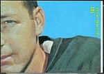 Bart Starr 1968 Topps football card puzzle piece